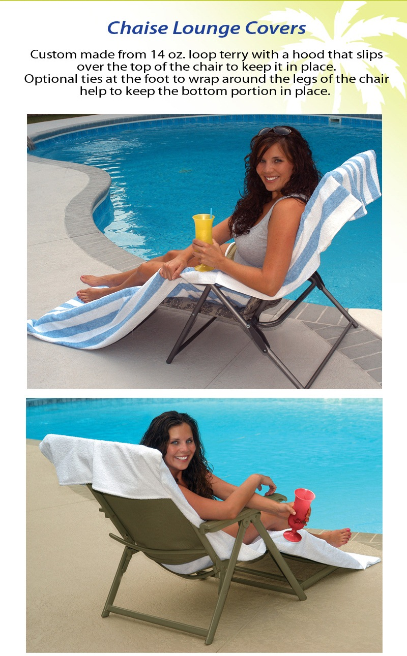 Chaise Lounge Towels